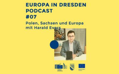 Europa in Dresden #07: Polen, Sachsen und Europa mit Harald Evers